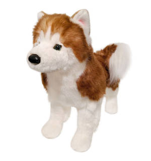 Limited Edition Red Husky by Douglas Cuddle Toys