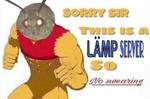 Sorry sir Moth Lamp Meme