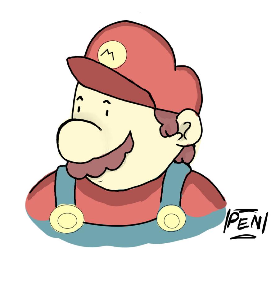 Mario by craftynerd02