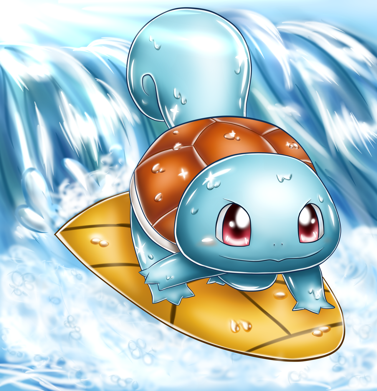 Squirtle by Melmee