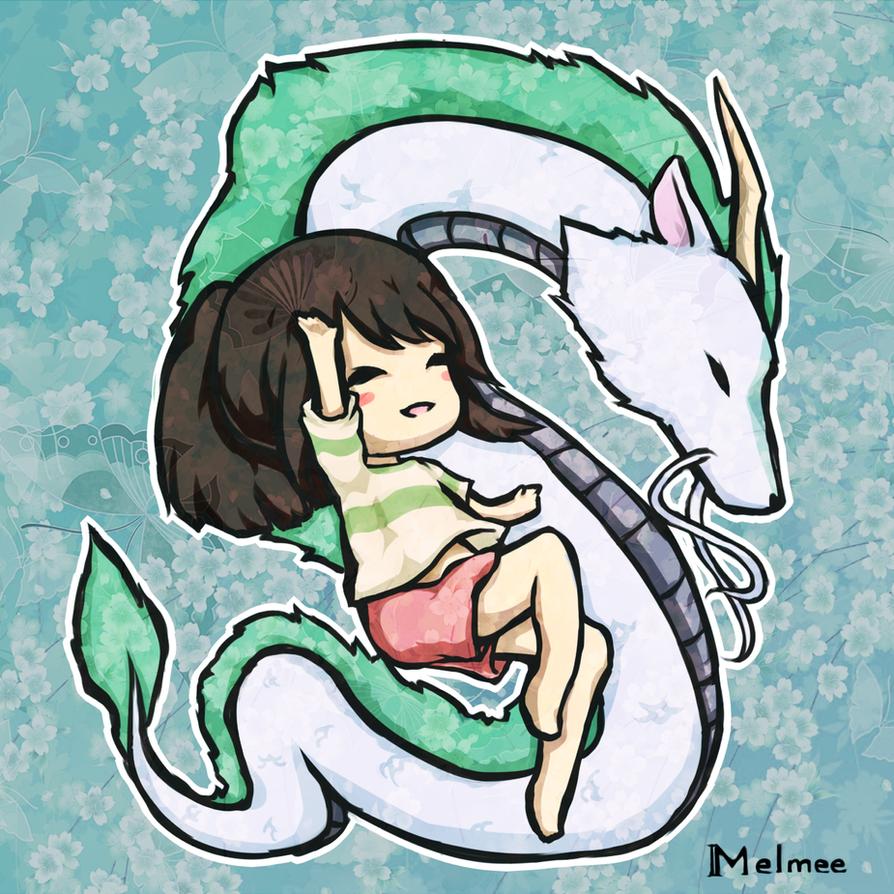 Spirited Away Dragon Wallpaper