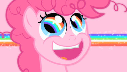 RAINBOW EYES WALLPAPER _LightPink vers. by pinkiepie-rainbowplz