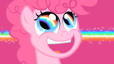 RAINBOW EYES WALLPAPER _DarkPink vers. by pinkiepie-rainbowplz