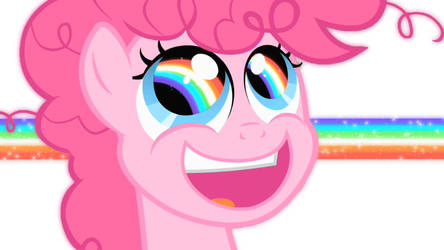 RAINBOW EYES WALLPAPER _White vers. by pinkiepie-rainbowplz