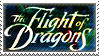 The Flight of Dragons Stamp by Wolfrott