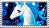 The Last Unicorn Stamp by clovenhoofguise