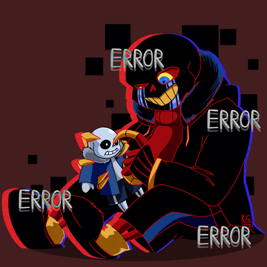 ERROR Sans And His Sans Puppet By KlaraGibson On DeviantArt