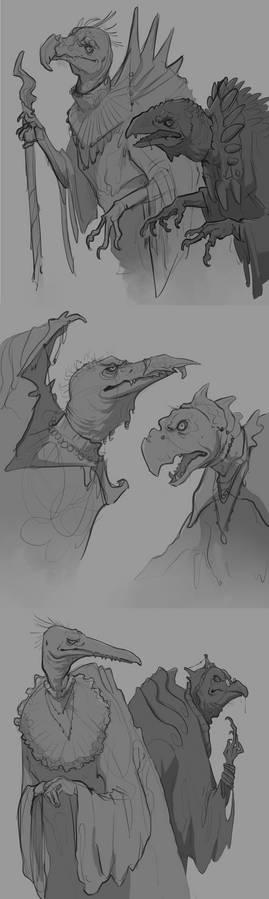 Skeksis sketches