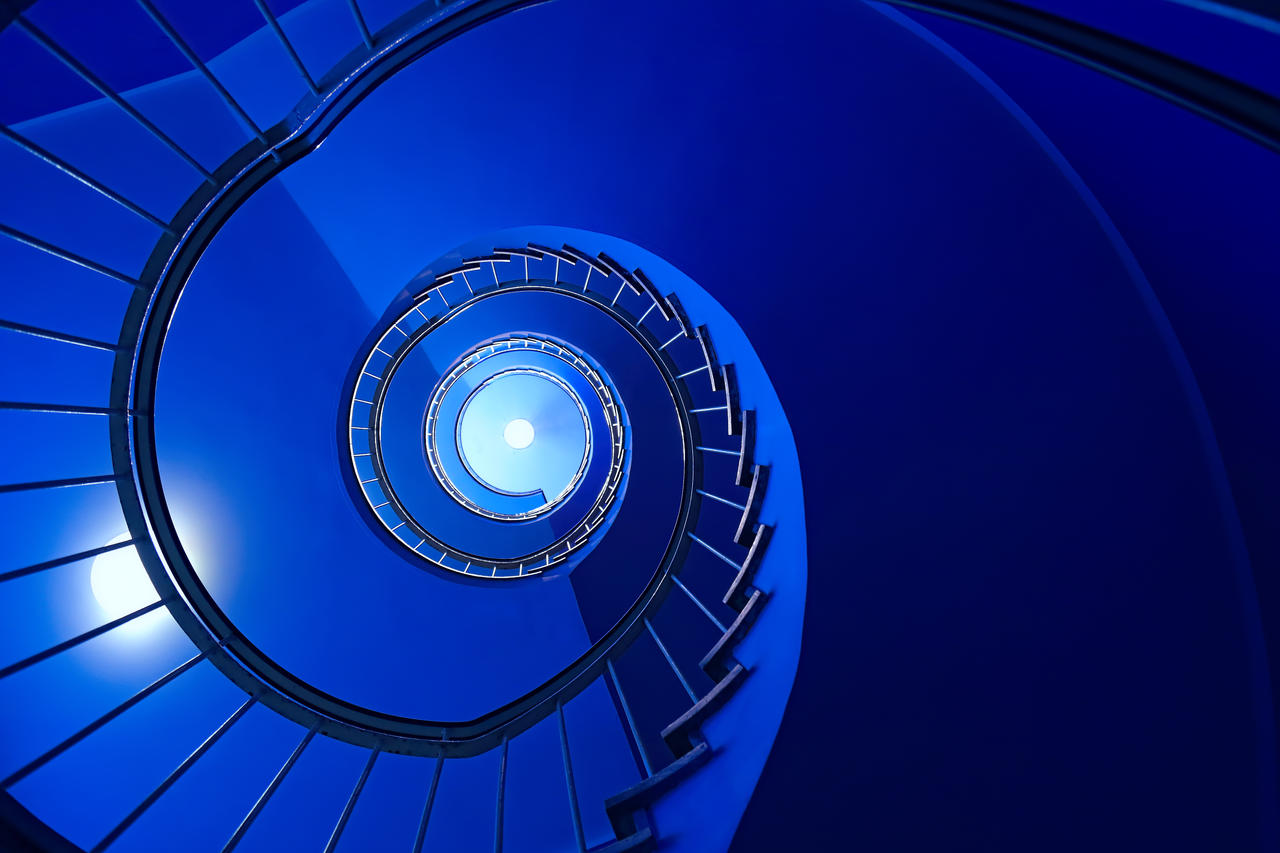 Blue Staircase by steveland67