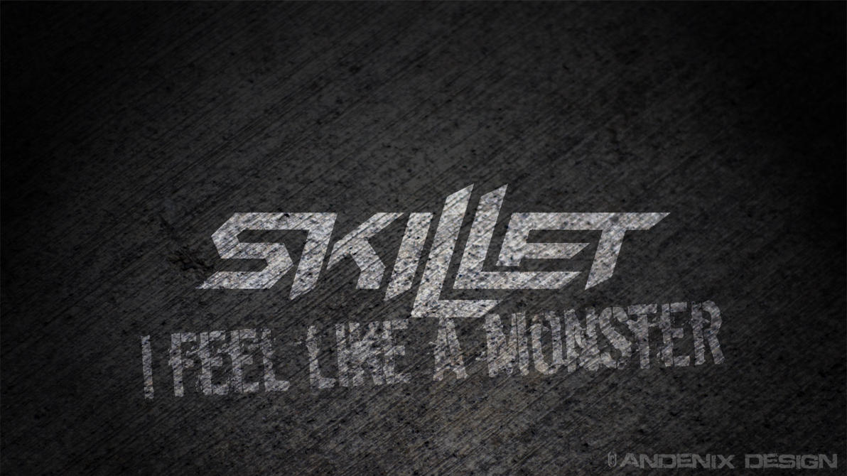 skillet wallpaper monster