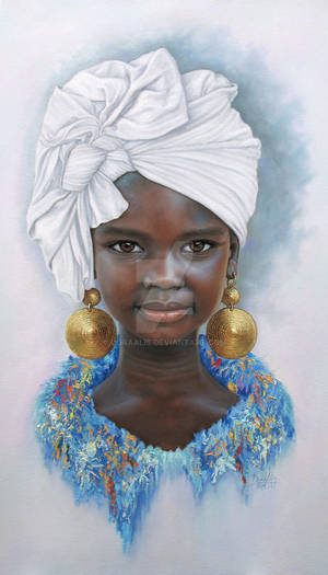 African Girl 105