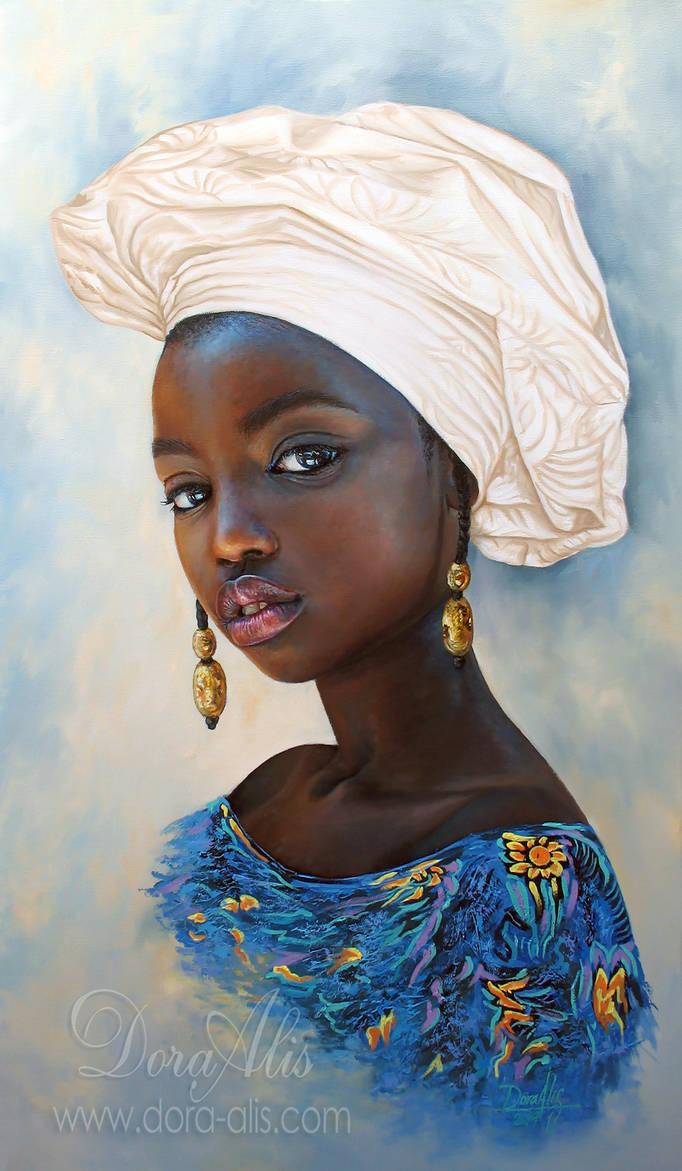 African Girl 106 by Dora-Alis