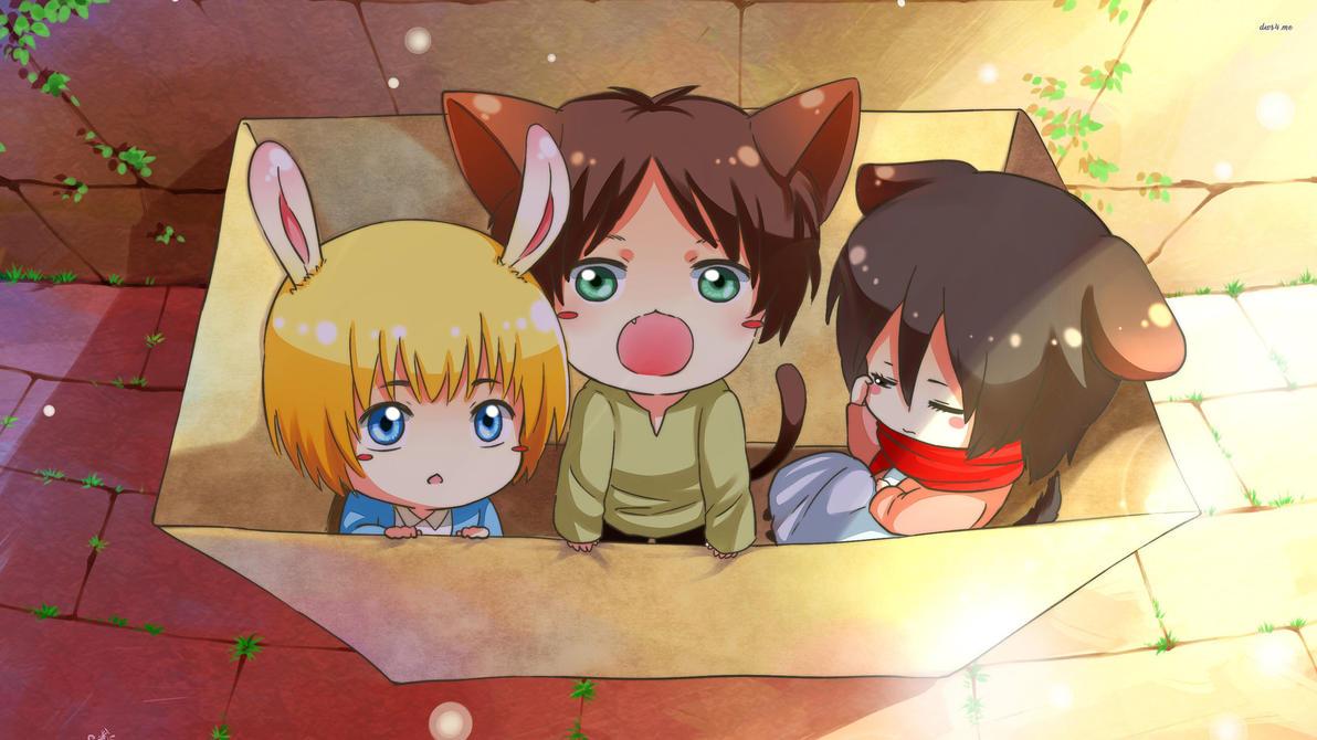 Resultado de imagem para anime kawaii wallpaper