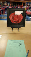 Rose - Completed, on display - Art Auction 2016