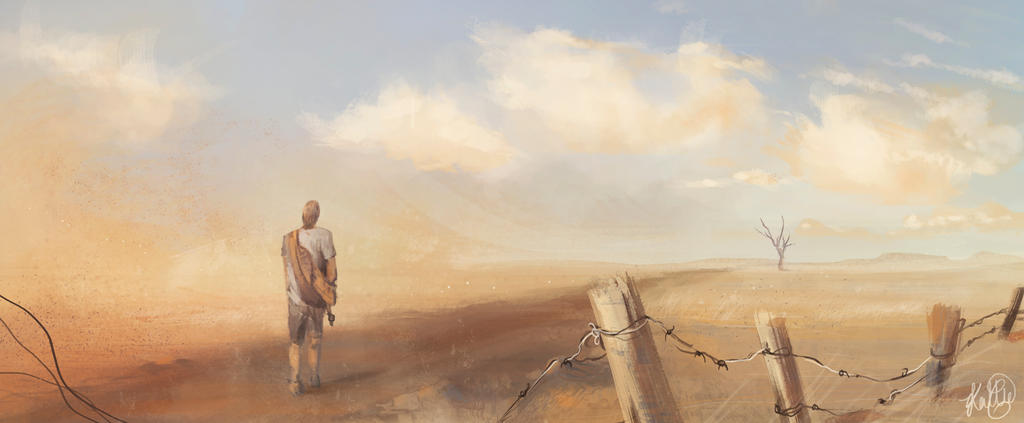 Speedpaint - dust by xXKallieXx
