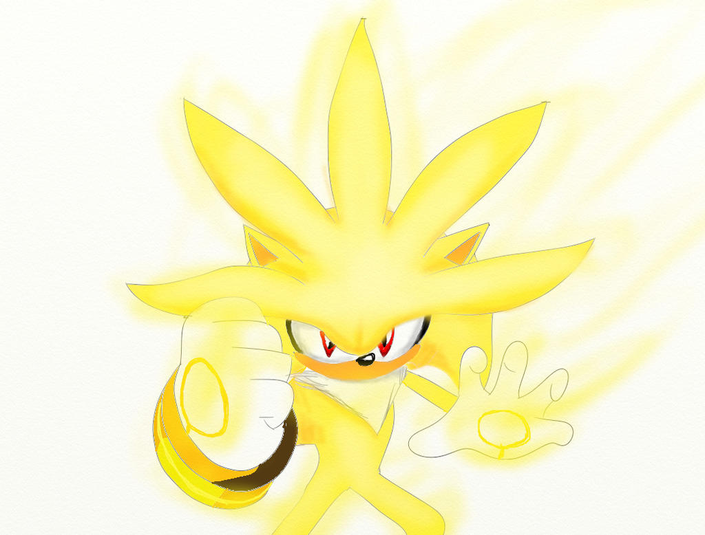 Supersilver the hedgehog by silversonic2000 on DeviantArt