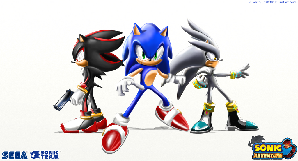 Sa3 Wallpaper Sonic And The Hedgehogs By Silversonic2000