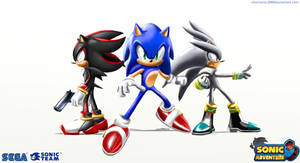 Sa3 wallpaper: Sonic and the hedgehogs