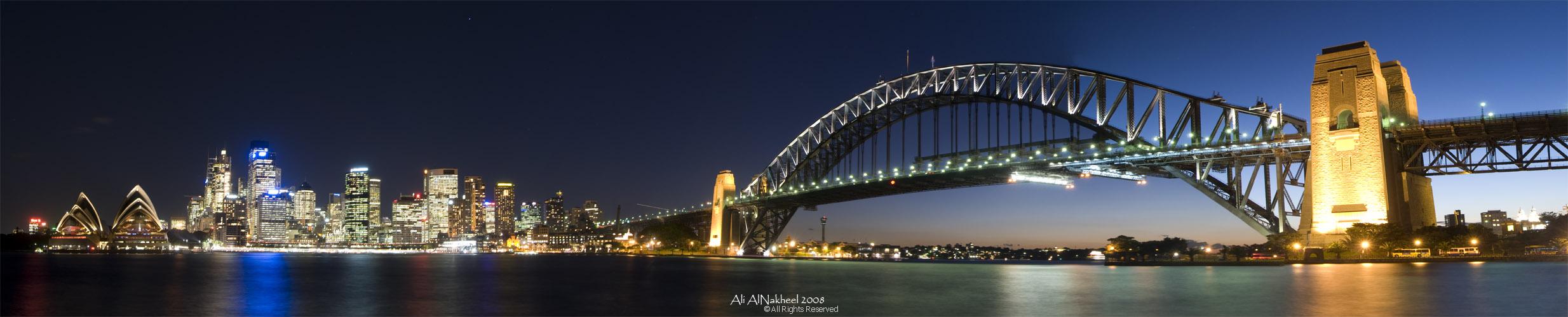 Panorama of Sydney Skyline I