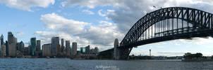 Panorama of Sydney Skyline II