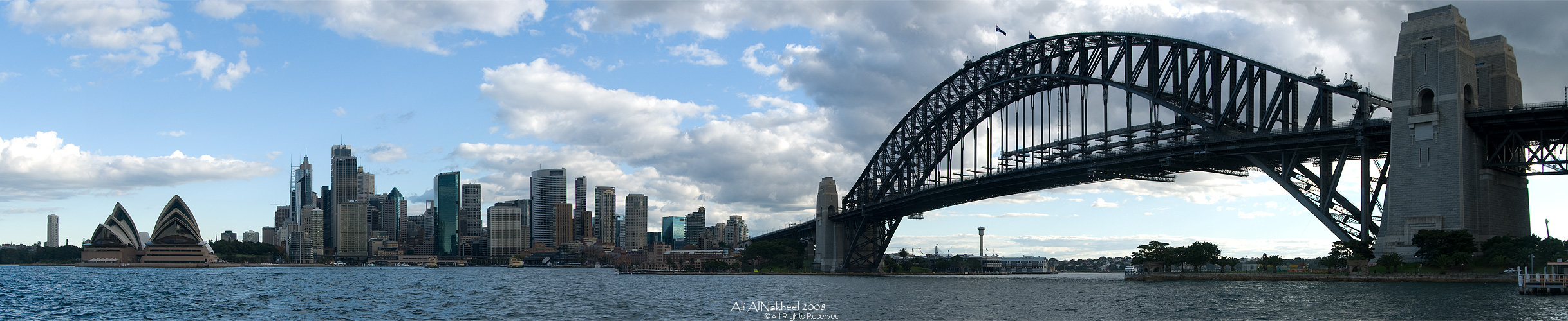 Panorama of Sydney Skyline II by IAMSORRY87