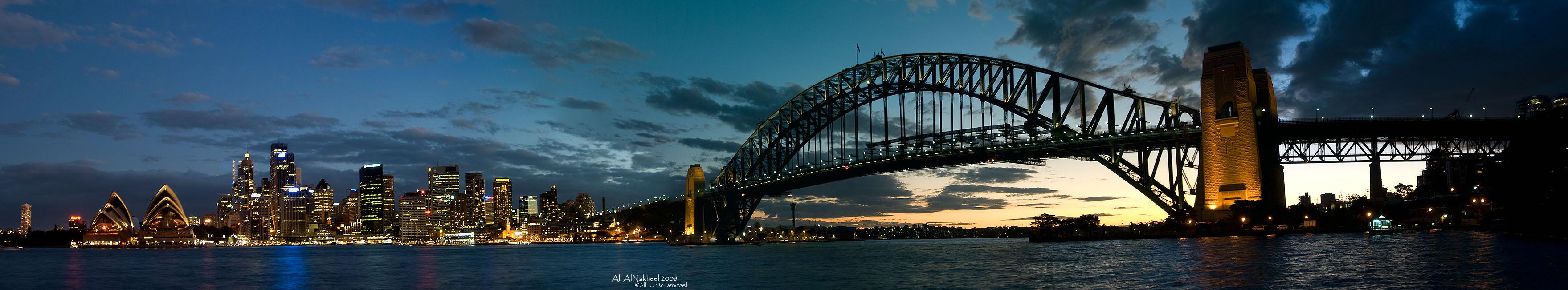 Panorama of Sydney Skyline III by IAMSORRY87