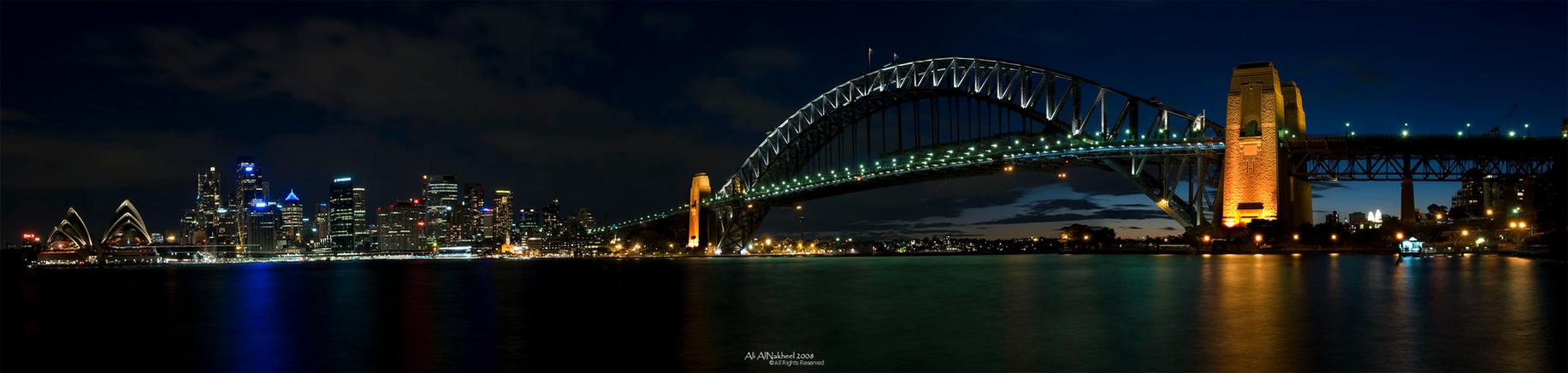 Panorama of Sydney Skyline IV by IAMSORRY87