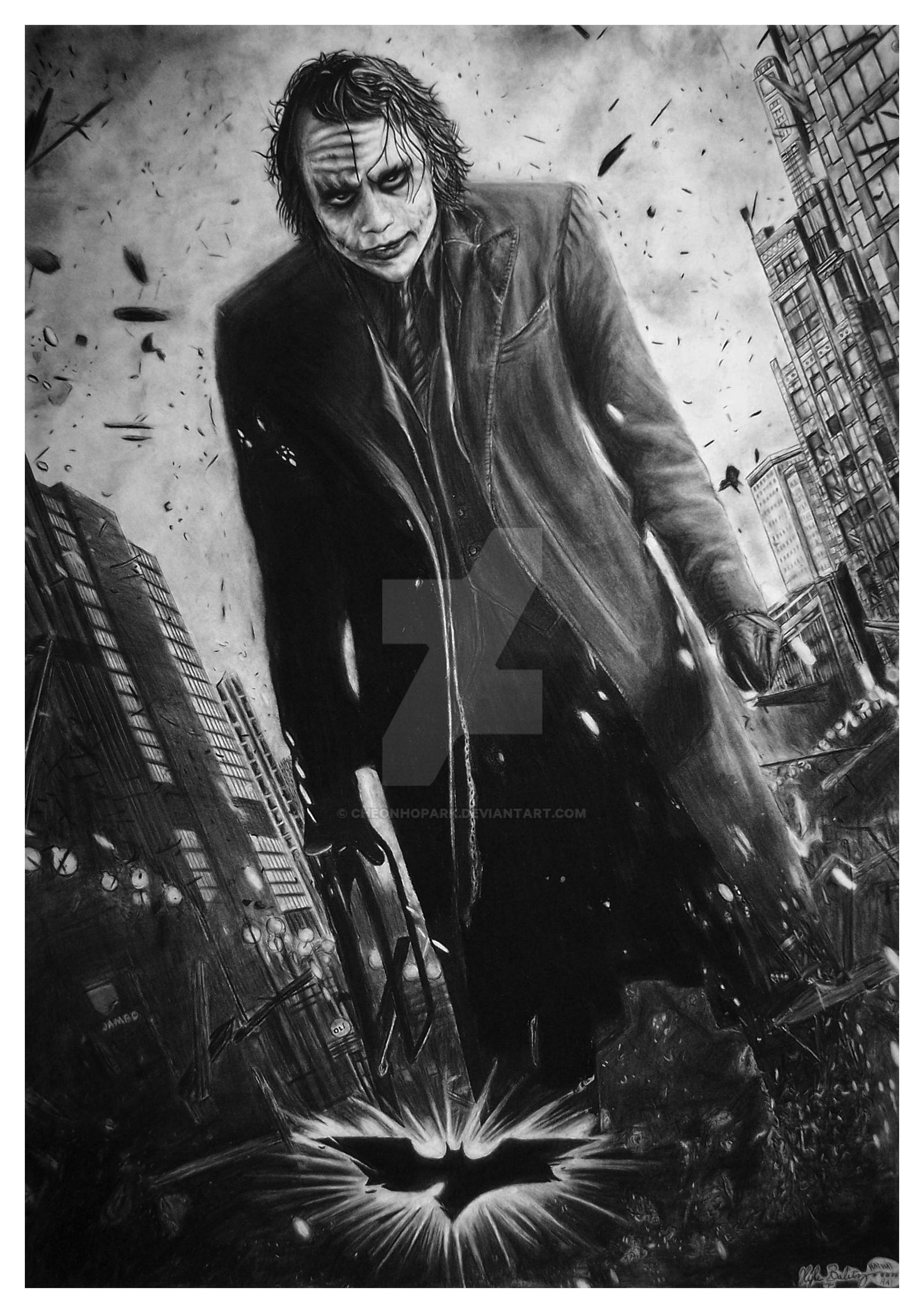 The Joker - The Dark Knight by CheonHoPark