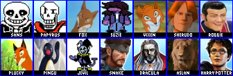 WIP Smash Bros Roster by mdscarfaceone