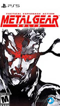 PS5 Metal Gear Solid Cover Art Concept