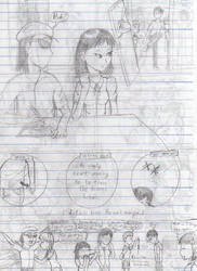 Drawing Manga in Class, pt.2-2 by AndyKusanagi