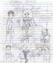 Drawing Manga in Class, pt.4 by AndyKusanagi