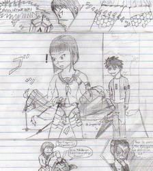 Drawing Manga in Class, pt.6 by AndyKusanagi