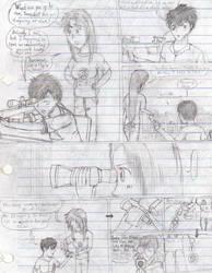 Drawing Manga in Class, pt.7-1