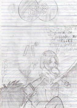 Drawing Manga in Class, pt.7-2