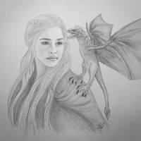 Daenerys Targaryen by anettfrozen