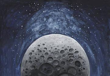 Moon by anettfrozen