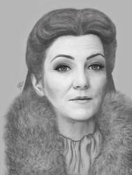 Catelyn Stark by anettfrozen