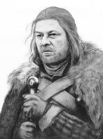 Eddard Stark by anettfrozen