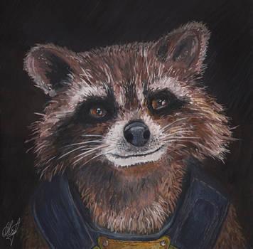 Rocket Raccoon by anettfrozen