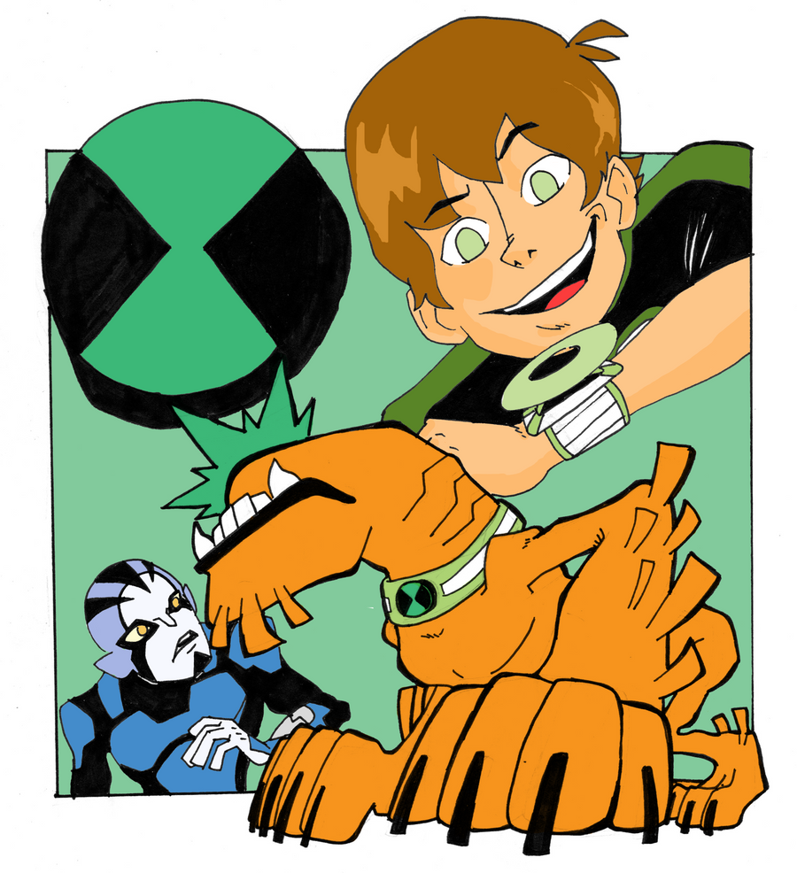 Ben 10 Wildmutt Omniverse by poserocker