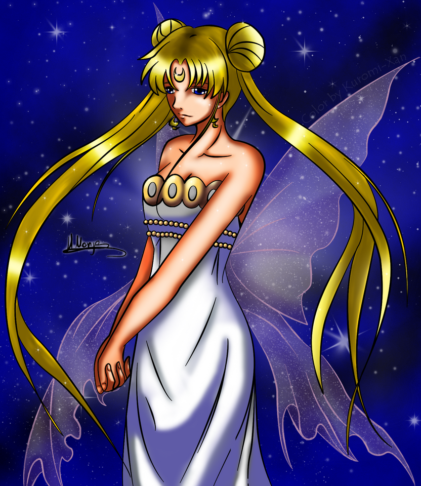 Neo Queen Serenity :COLOR: By Kuromi-xan On DeviantArt