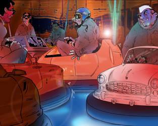 Bumper cars by tughlaq