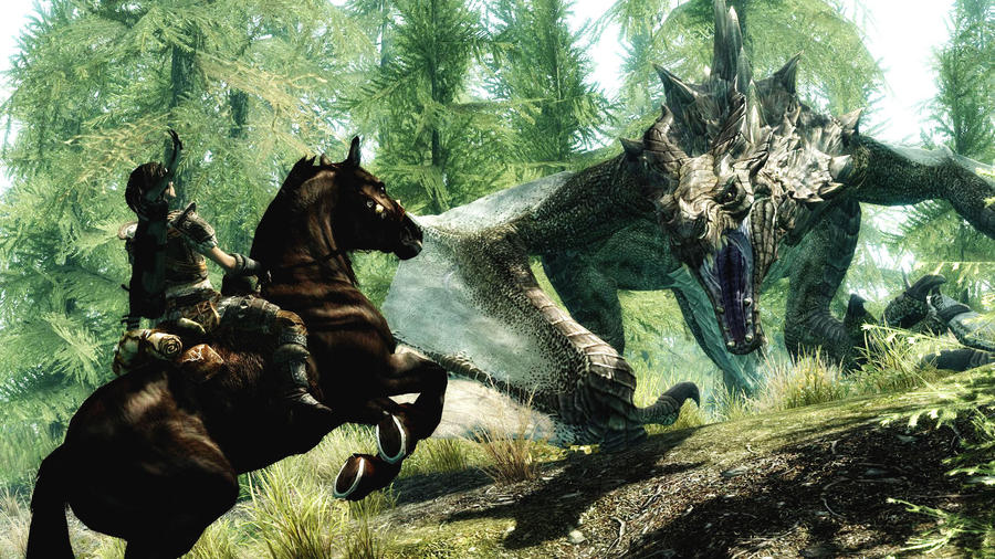 The Dragon by Vicki73
