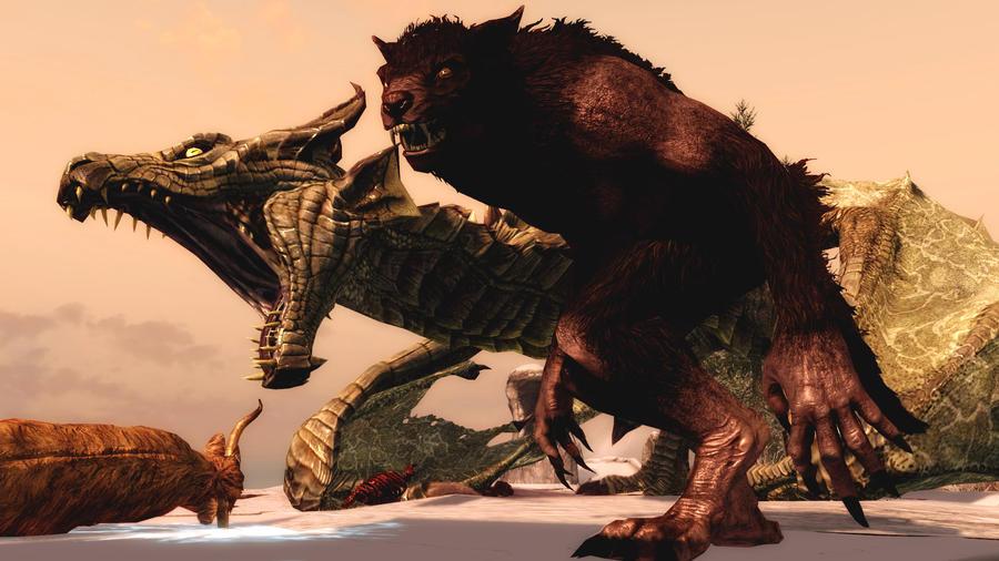 Beasts of Skyrim by Vicki73
