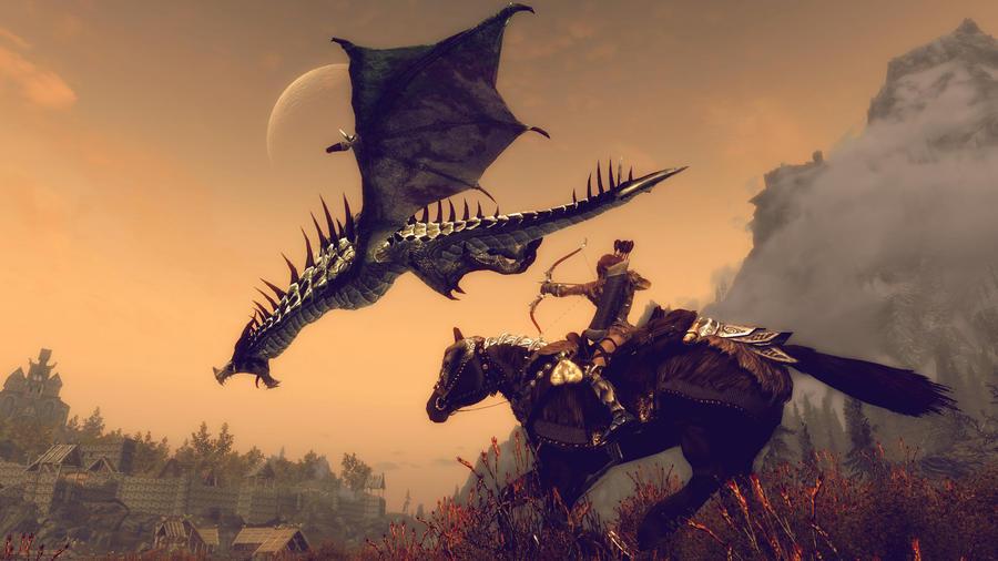 The Dragon Hunter by Vicki73