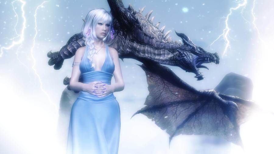 Фото с эльфами и драконами 1 фотография