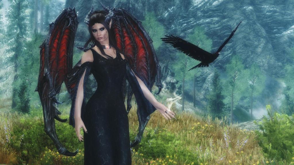 Black Bird by Vicki73