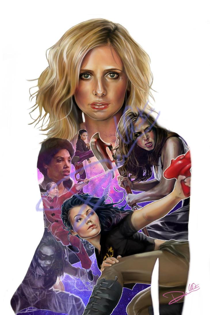 Buffy The Vampire Slayer Slayer Lineage By Cordy5by5 On