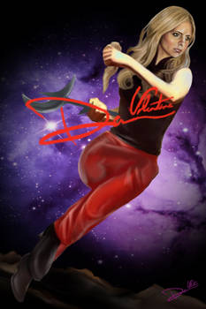 Buffy the Vampire Slayer Poster Print